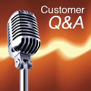 Customer Q&A