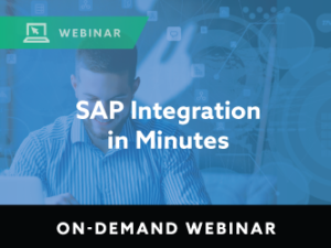 SAP Integration in Minutes
