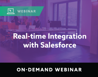 Real-time Integration with Salesforce