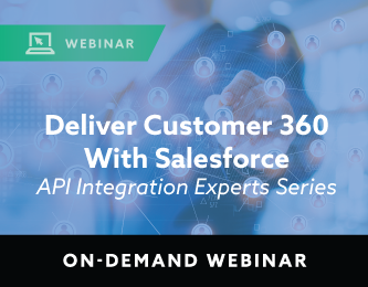 Deliver Customer 360 with Salesforce On-Demand Webinar