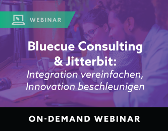 Bluecue and Jitterbit webinar on-demand