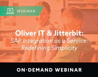 Oliver IT and Jitterbit webinar on-demand
