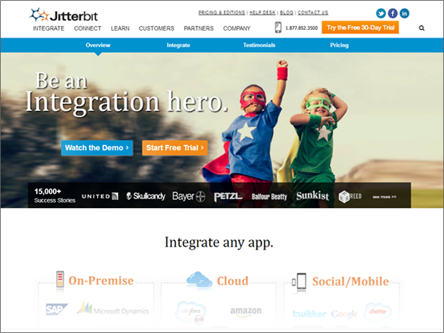 Welcome to the new Jitterbit.com