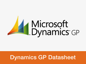 MS Dynamics GP Datasheet
