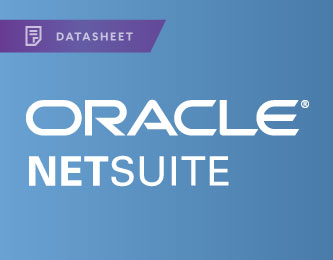 Oracle Netsuite Datasheet