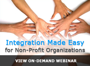Integration Made Easy for Non-Profit Organizations