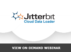 Webinar – The NEW Jitterbit Cloud Data Loader is here! – 8/28/13
