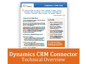 MS Dynamics CRM Technical Overview