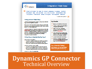 MS Dynamics GP Technical Overview