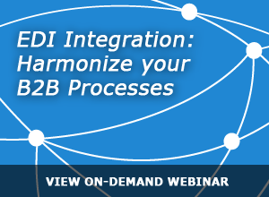 Webinar – EDI Integration: Harmonize your B2B Processes – 3/13/14