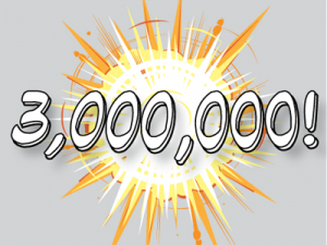 The #1 Cloud Data Loader celebrates #3MillionInstalls with the Salesforce AppExchange