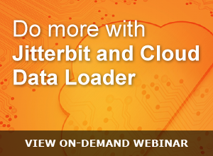 Webinar – Do more with Jitterbit and Data Loader 042215