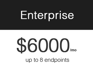 Pricing – Enterprise