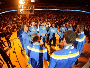Golden State Warriors Compete with Connected Wearables