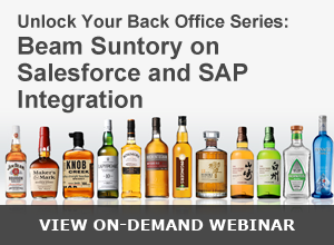 Webinar – Beam Suntory on SAP and Salesforce Integration 071515