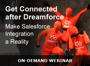 Webinar – Get Connected After Dreamforce – 100715