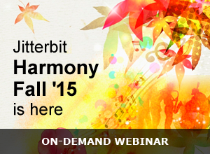 Jitterbit Harmony Fall '15 Release, Part 2: The Connectors