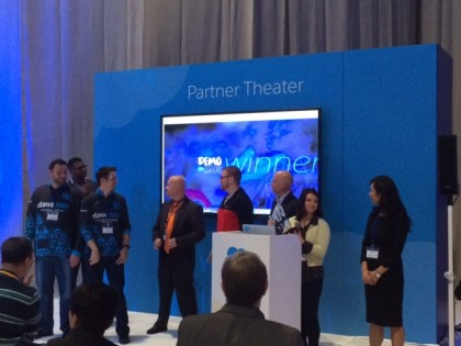Jitterbit Wins First Live App Demo Jam at Salesforce World Tour NYC