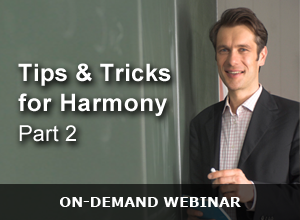 Webinar – Tips and Tricks for Harmony Part 2 – 121715