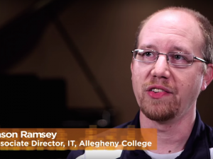 Jason Ramsey, Allegheny College