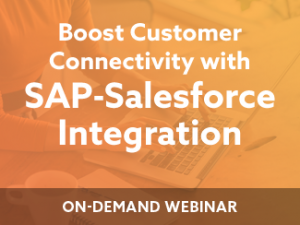 Boost Customer Connectivity with SAP-Salesforce Integration