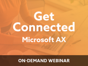 Get Connected – Microsoft AX