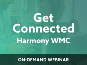 Getting Connected – Harmony WMC