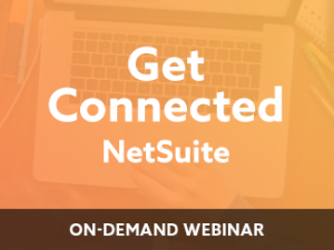 Get Connected – NetSuite