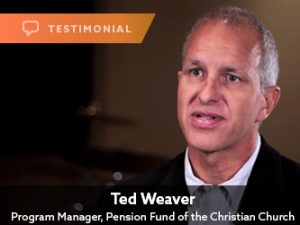 Ted Weaver, Pension Fund of the Christian Church