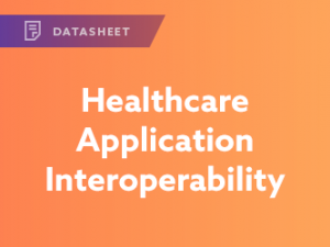 Healthcare Application Interoperability