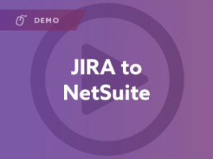 JIRA to NetSuite Integration Demo