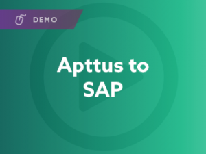 Apttus to SAP Demo