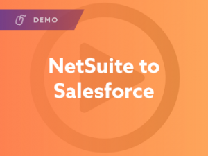 Netsuite to Salesforce Demo