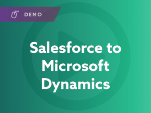 Salesforce to Microsoft Dynamics