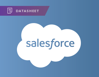 Salesforce Datasheet