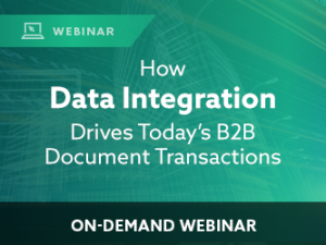 How Data Integration Drives Today's B2B Document Transactions