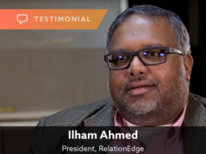 Testimonial — Ilham Ahmed, RelationEdge