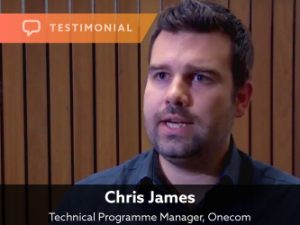 Testimonial — Chris James, Onecom