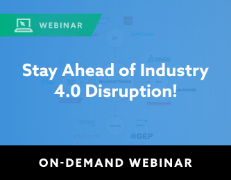 Stay Ahead of Industry 4.0 Disruption!