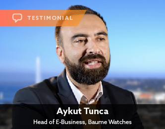 Aykut Tunca, Head of E-Business, Baume Watches