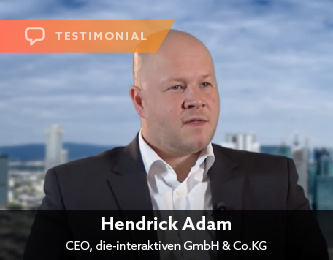 Hendrick Adam, CEO, die-interaktiven GmbH & Co.KG