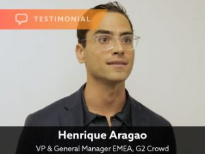 Testimonial — Henrique Aragao, G2 Crowd