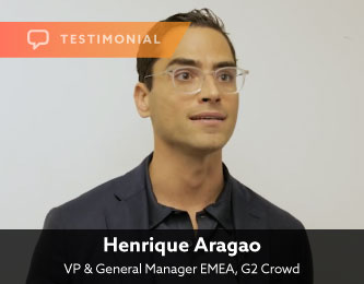 Henrique Aragao, VP & General Manager EMEA, G2 Crowd