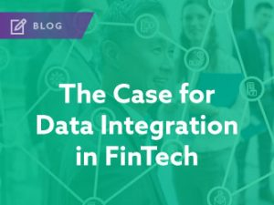 The Case for Data Integration in FinTech