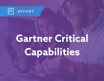 Gartner Critical Capabilities Report